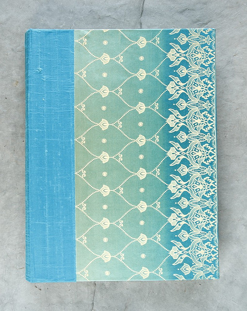 Reusable Fabric Book Cover : Badger and chirp bookbinding book cloth