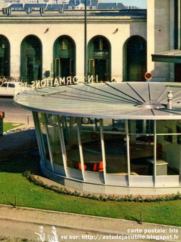 Caen - Syndicat d'Initiative  Architecte: Manson (Jean ?)  Construction: vers 1960  Détruit.