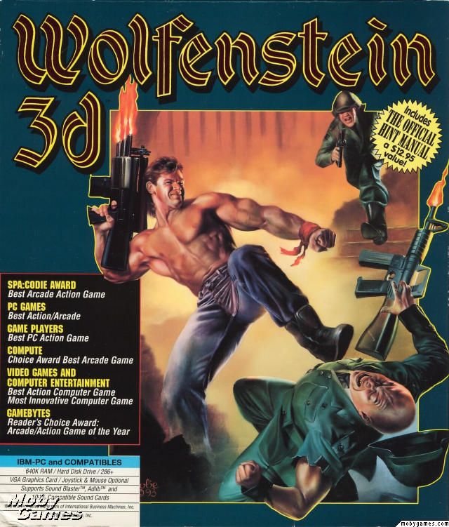 Book Cover Art Software ~ Roach on the wall game review wolfenstein d