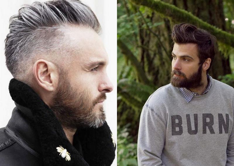 Barba, bigode e coque... O trio que fez a cabeça dos homens em 2015