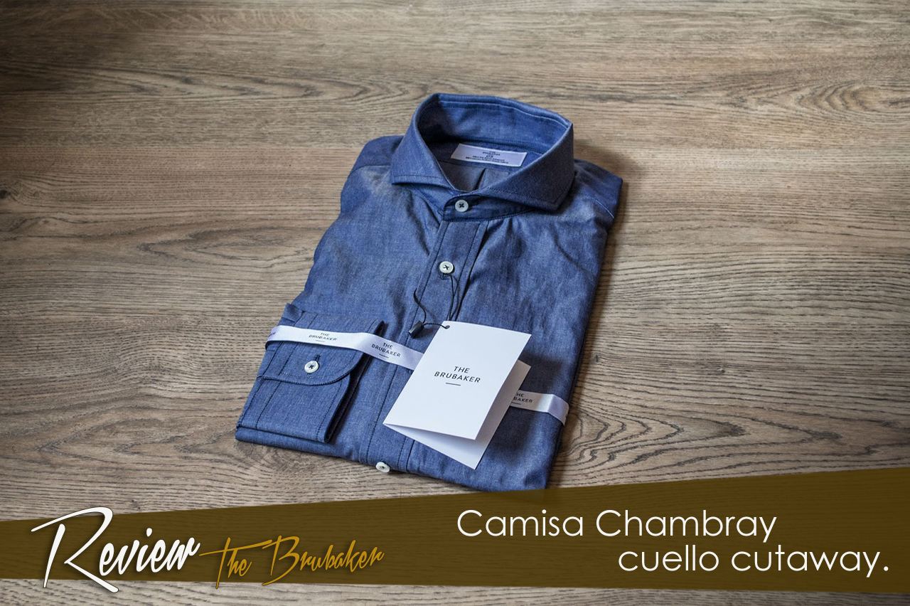 Review camisa Chambray de The Brubaker.