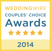 Wedding Wire 2014 Award
