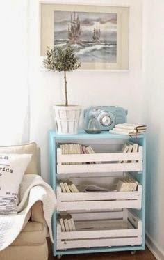 decorar con cajas de frutas