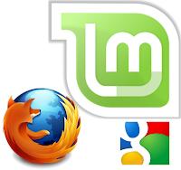 Linux Mint - Firefox - Google