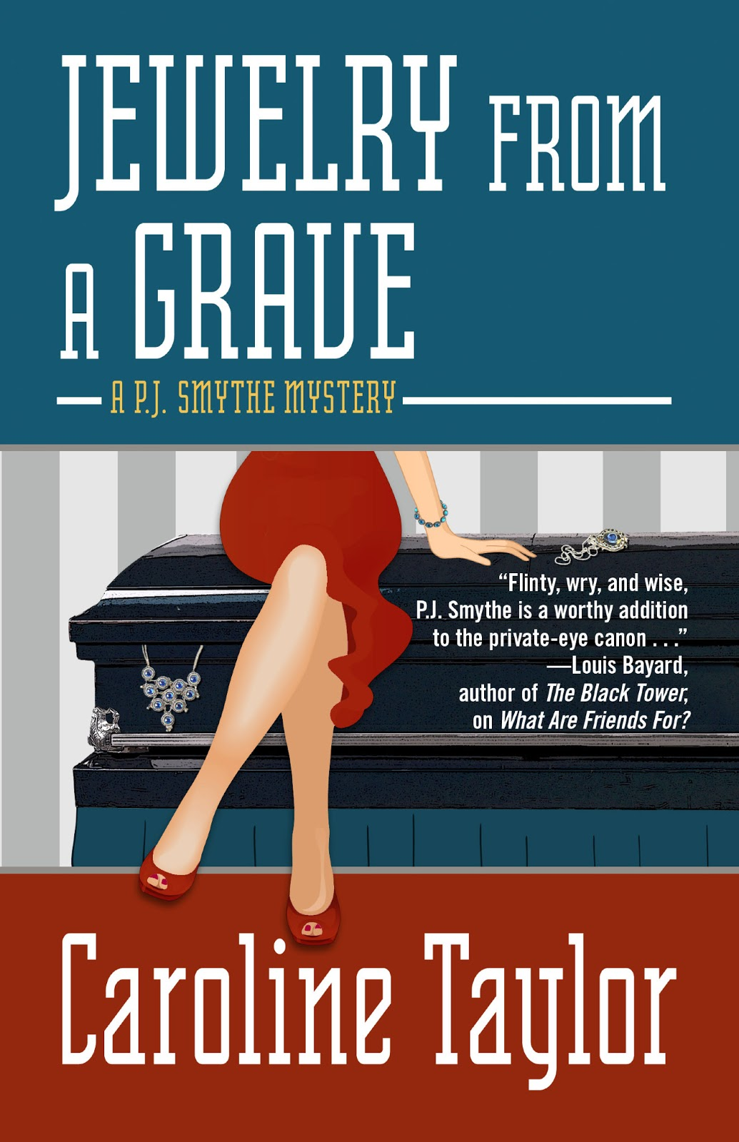 Jewelry from a Grave (Five Star Mystery Series) Caroline Taylor