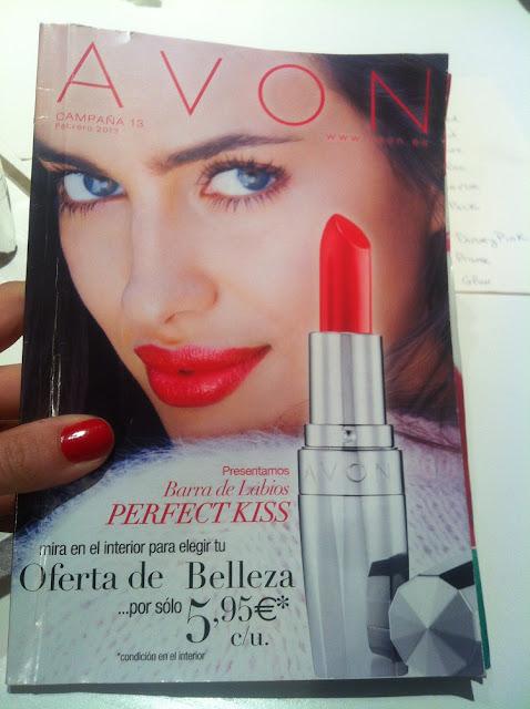 PERFECT KISS de AVON