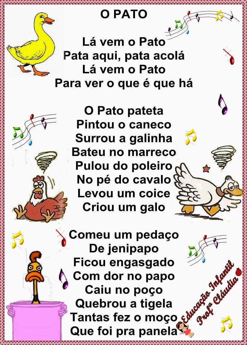 Populares Educação Infantil: Cantigas de Roda. MC96