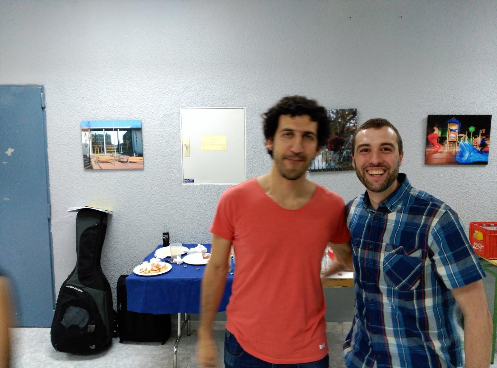 Marwan y Rubén Suárez