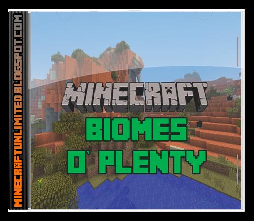 Biomes O' Plenty mod carátula