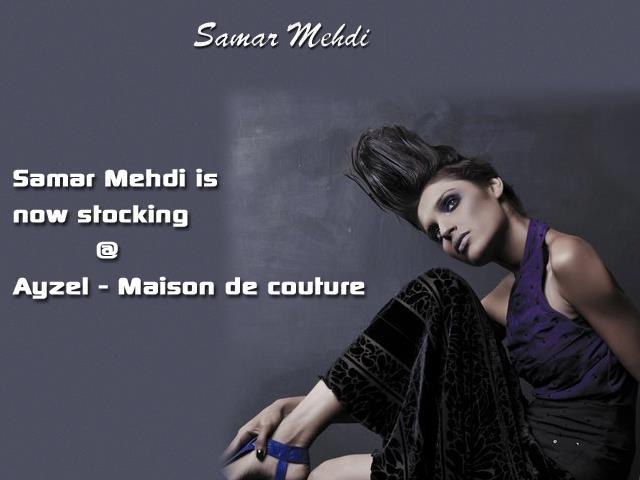 Samar mehdi now stocking ayzel maison de couture asian for Akay maison de couture