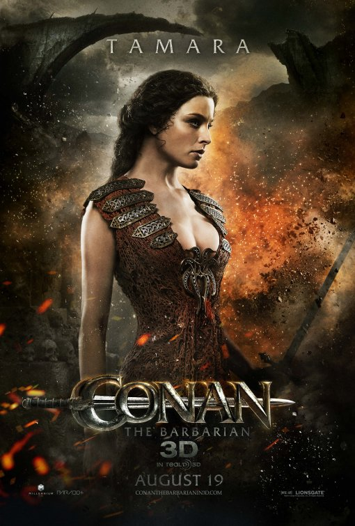 Conan the Barbarian Tamara poster