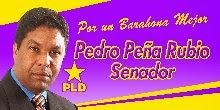 PEÑA RUBIO SENADOR, ES DE AQUI  Y TRABAJA POR TI.