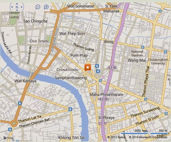 Whitespace gallery bangkok location map location map of whitespace