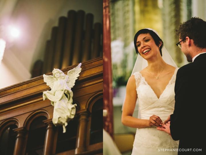 """san francisco wedding photography notre dame des victoires"""