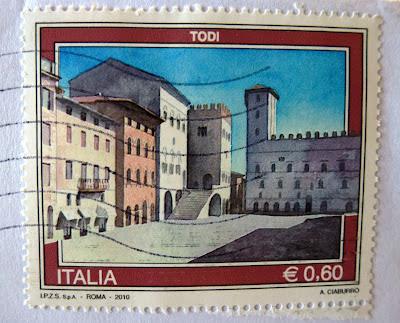 francobollo Todi € 0,60