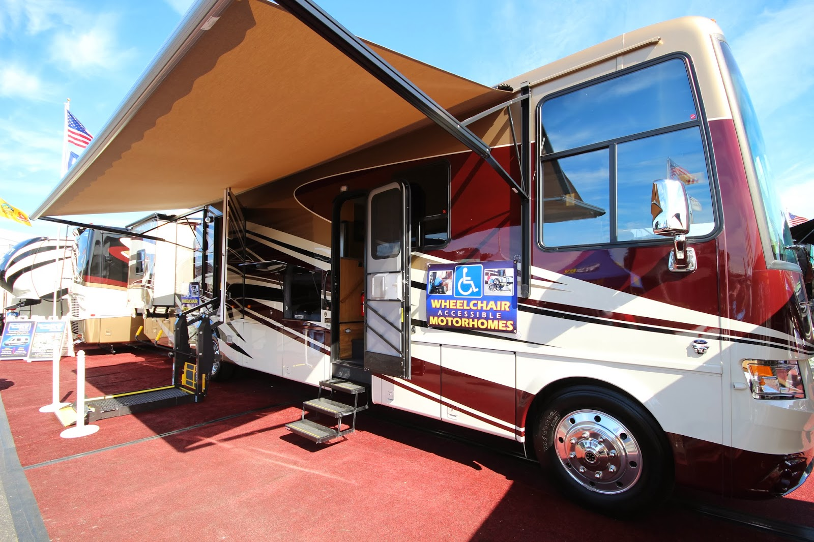 Class A Motorhomes Accessibility Meets Luxury In Newmar Coach