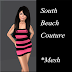 SOUTH BEACH COUTURE - MINI DRESS