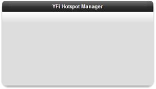 YFI hotspot manager error