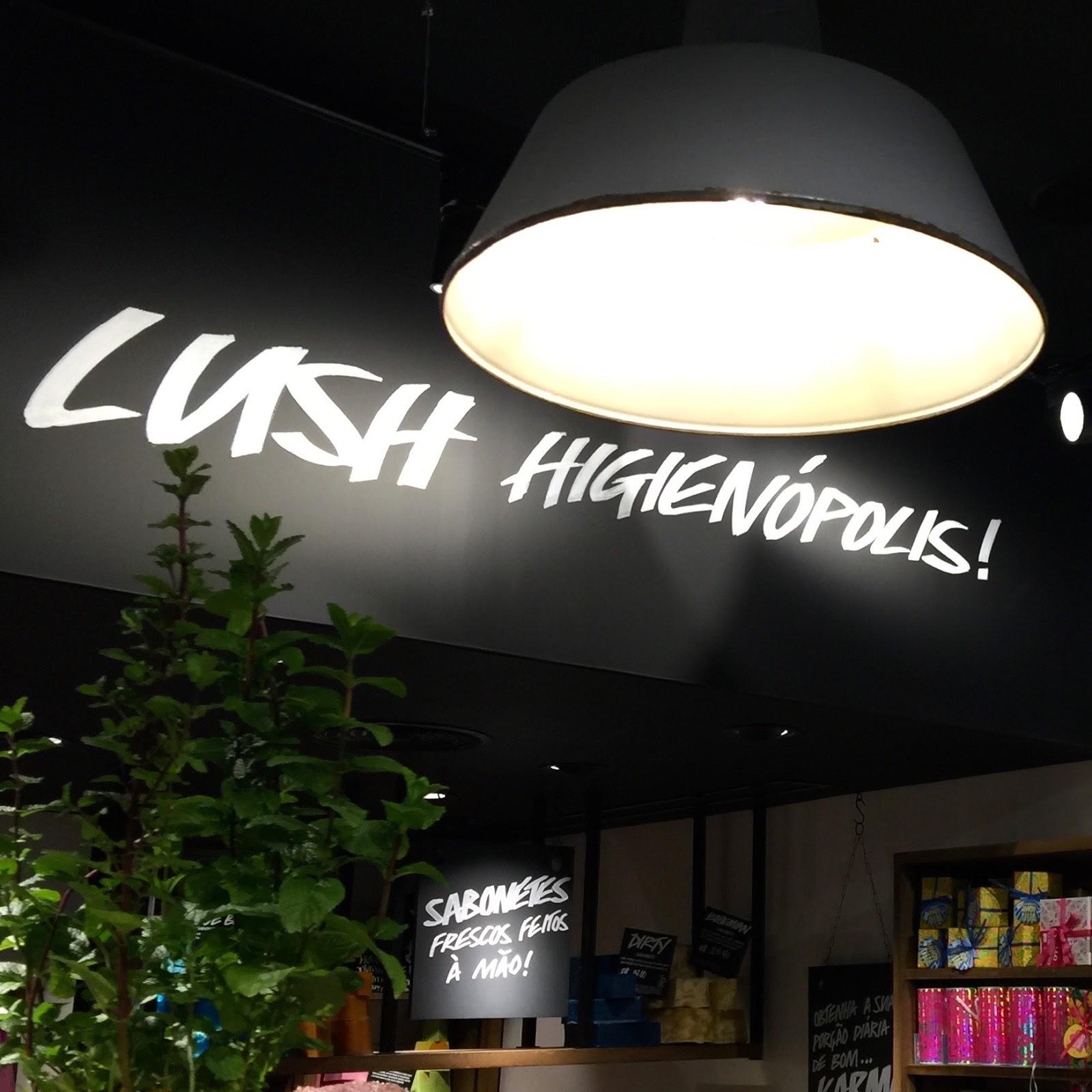 Inauguração Lush