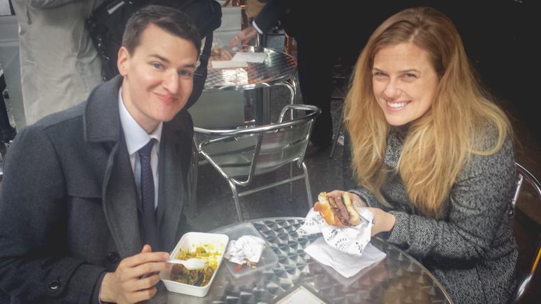Jon and Tamara