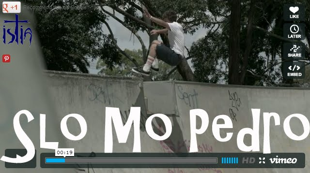 I skate therefore i am pedro barros on very slow motion for Pedro camera it