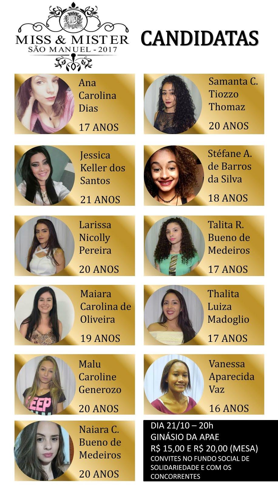 VOTE EM SUA FAVORITA!!!