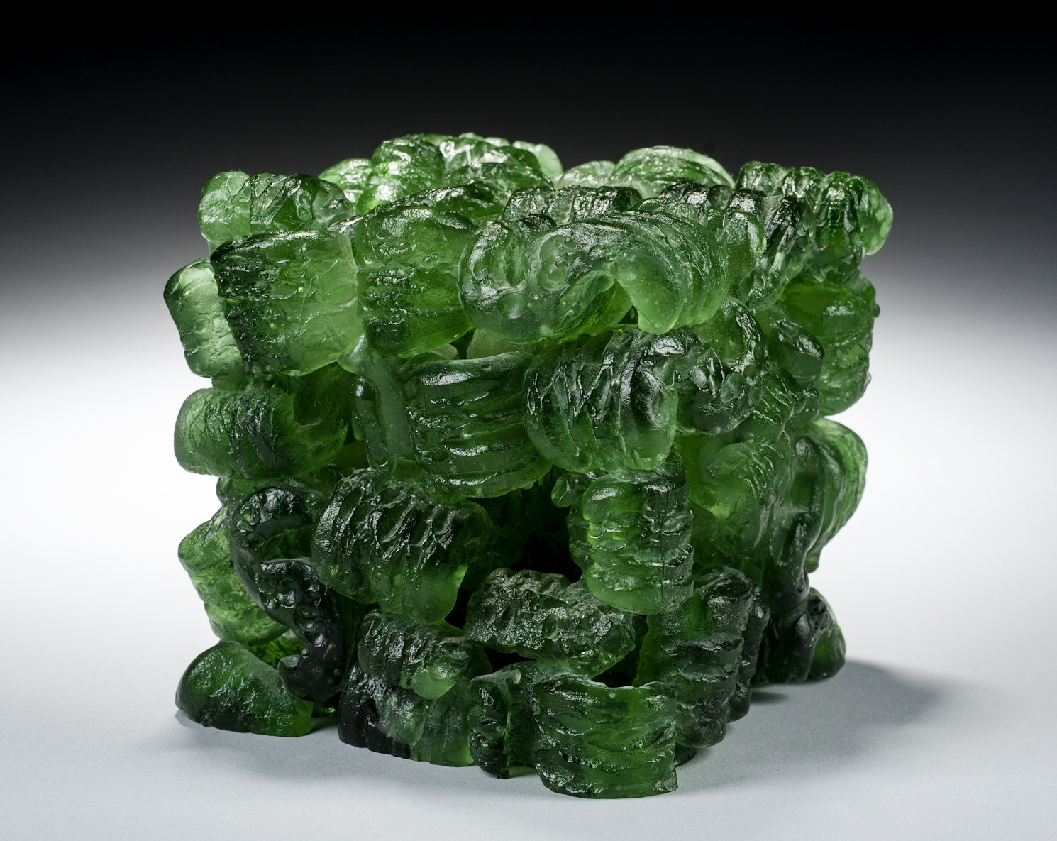 Washington glass school erwin timmers featured in aac for Recycled glass art