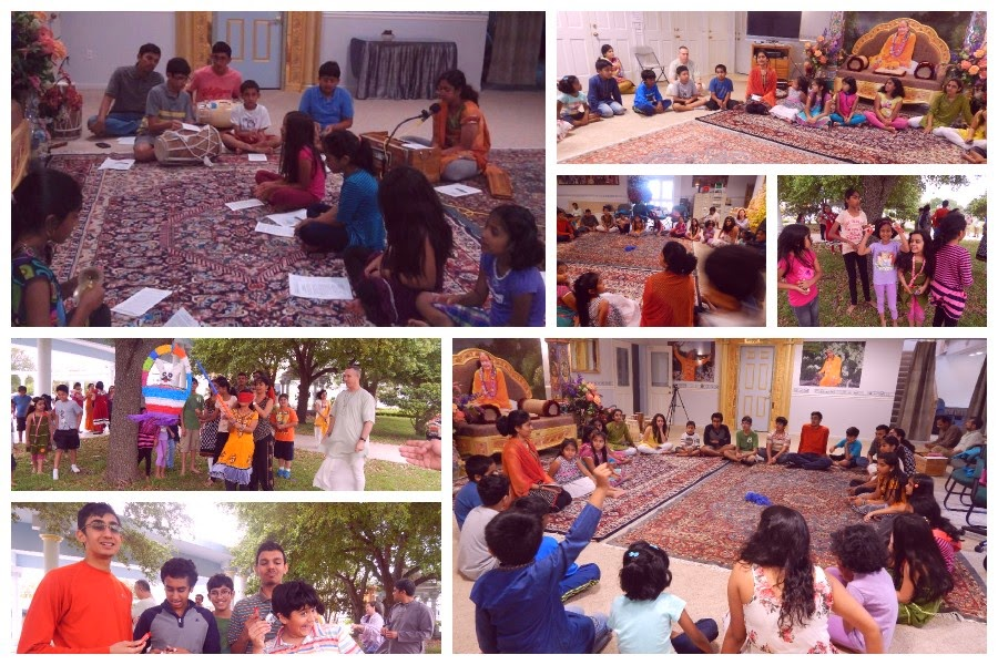 Jagadguru Kripalu ji Maharaj kids at Radha Madhav Dham
