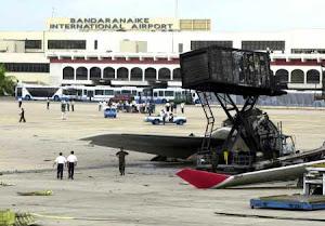 LTTE Terrorists attack Colombo International Airport