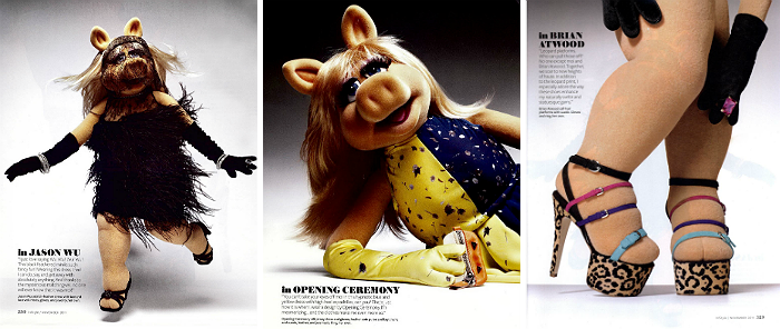 Miss Piggy In Fashion