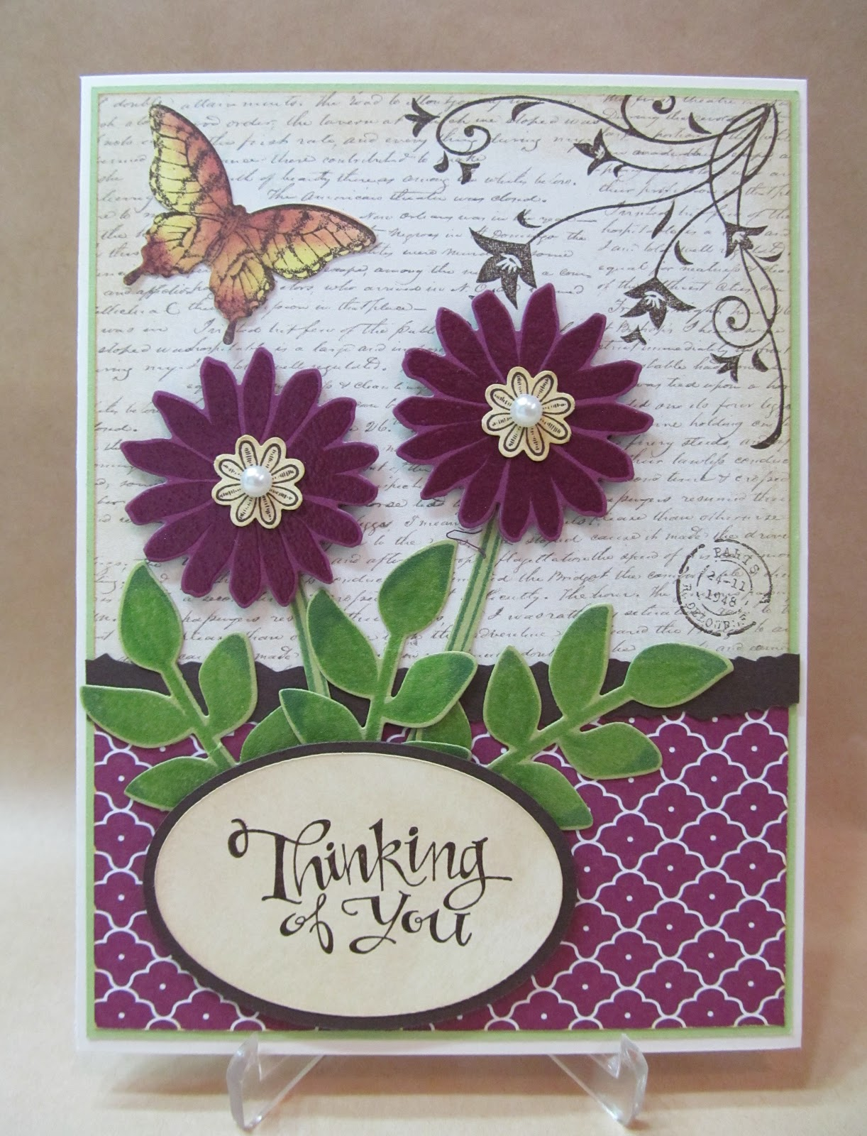Savvy handmade cards thinking of you card thinking of you card m4hsunfo
