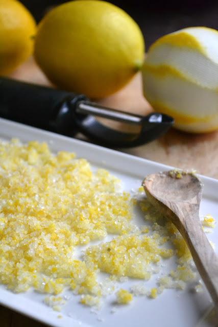 making lemon salt