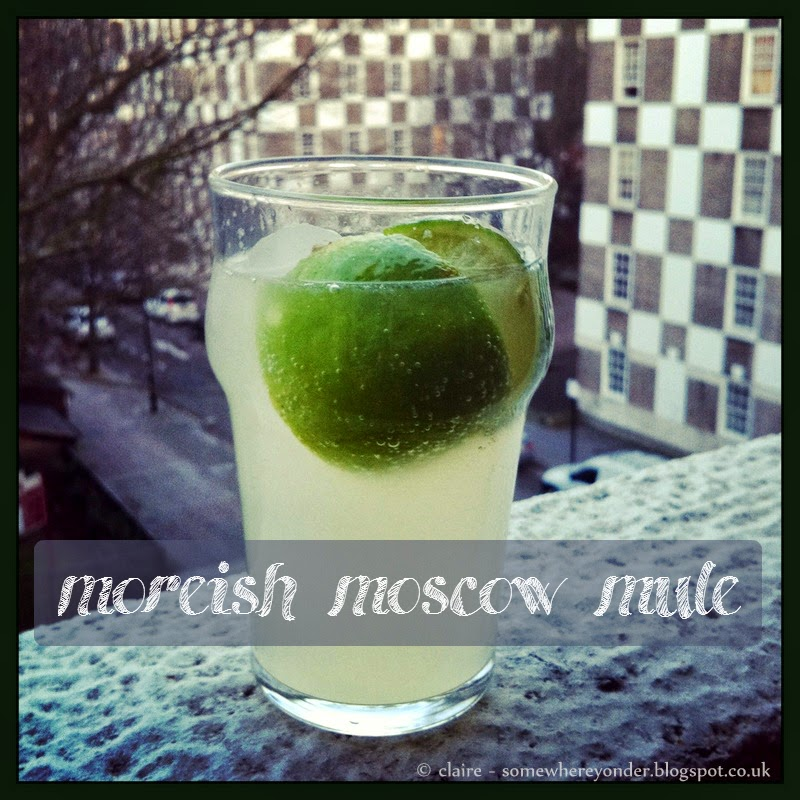 Moreish Moscow Mule cocktail