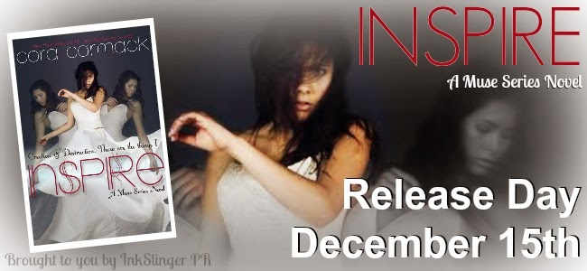 Release Blitz + Giveaway – Inspire by Cora Carmack