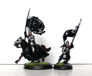 Figurki LotR: sztandarowi Minas Tirith