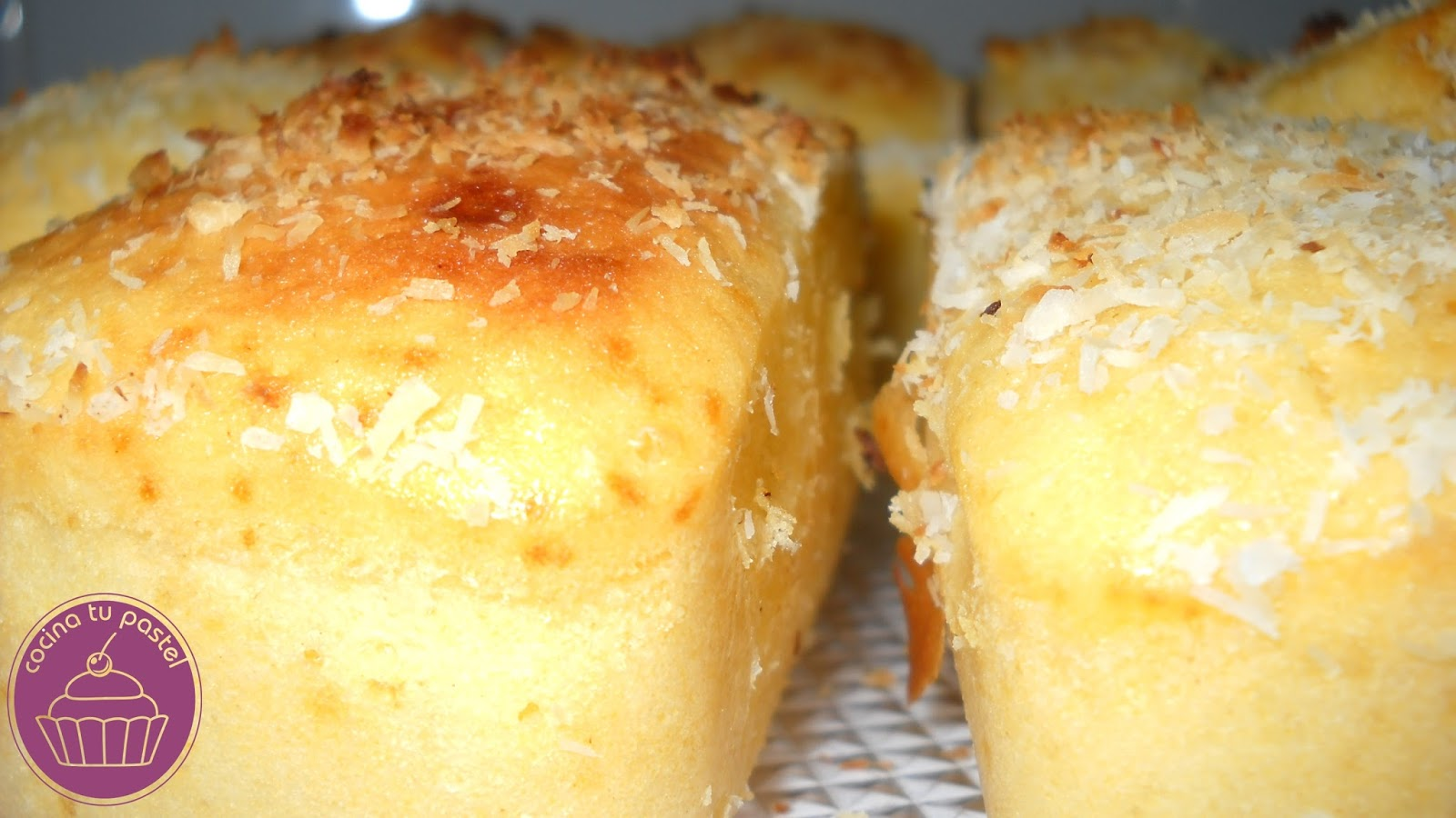 Cocina tu pastel bizcocho de almendra y coco for Bizcocho de yogur y almendra