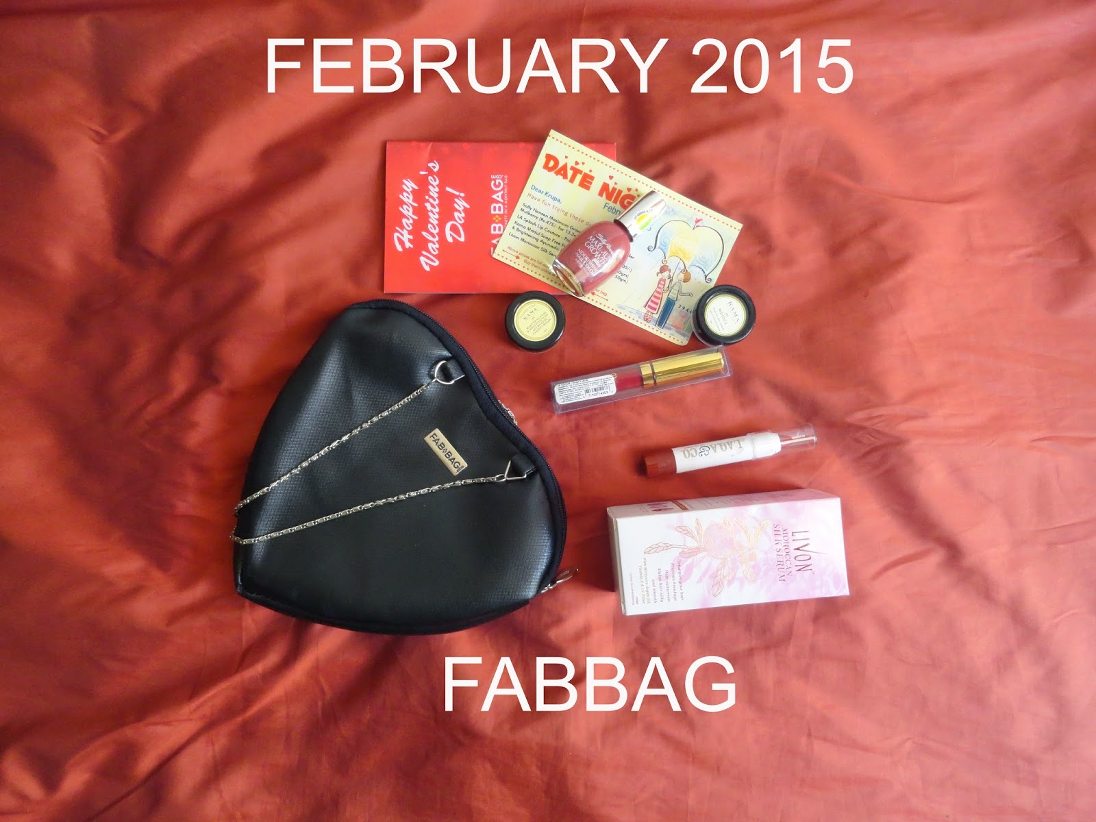 The bag filled with Love from Fabbag- February 2015 image