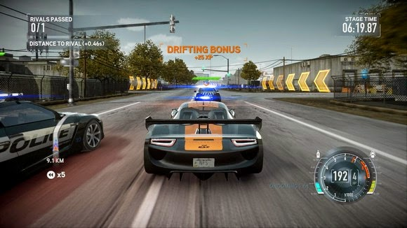 Download Game Mobil Balap Need For Speed The Run