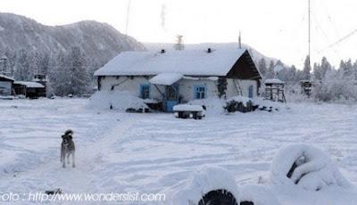 Kampung dengan suhu paling Dingin Di DUnia saat ini