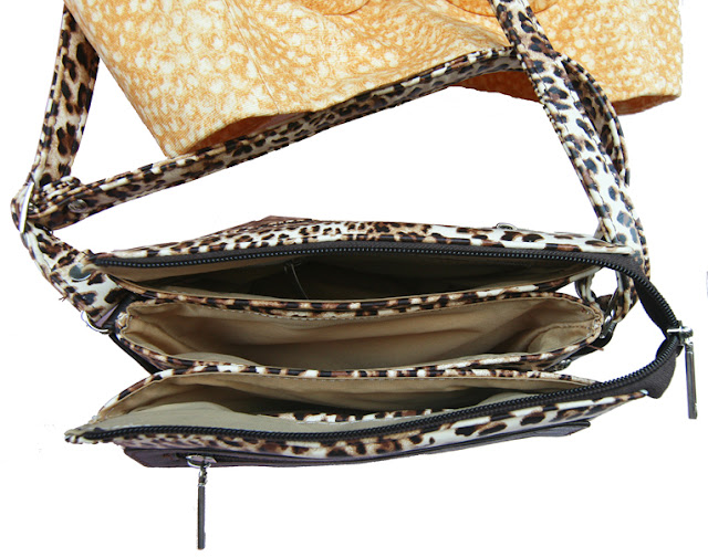 geanta copie Prada leopardprint