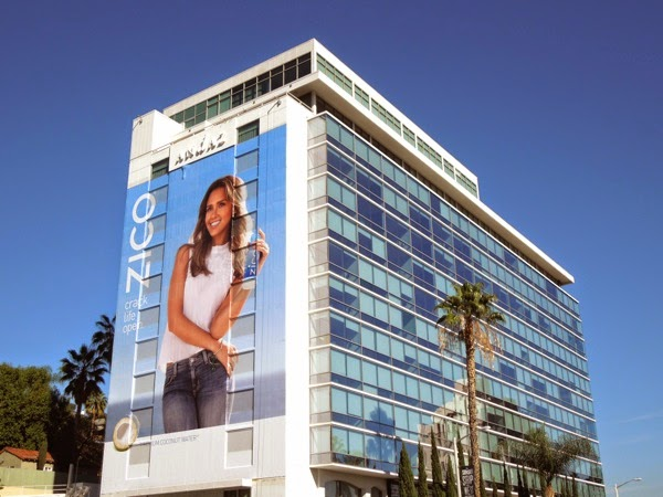 Giant Zico Coconut Water billboard
