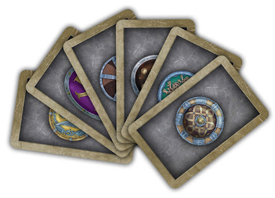 карта командующего в настольной игре рутения ruteniya