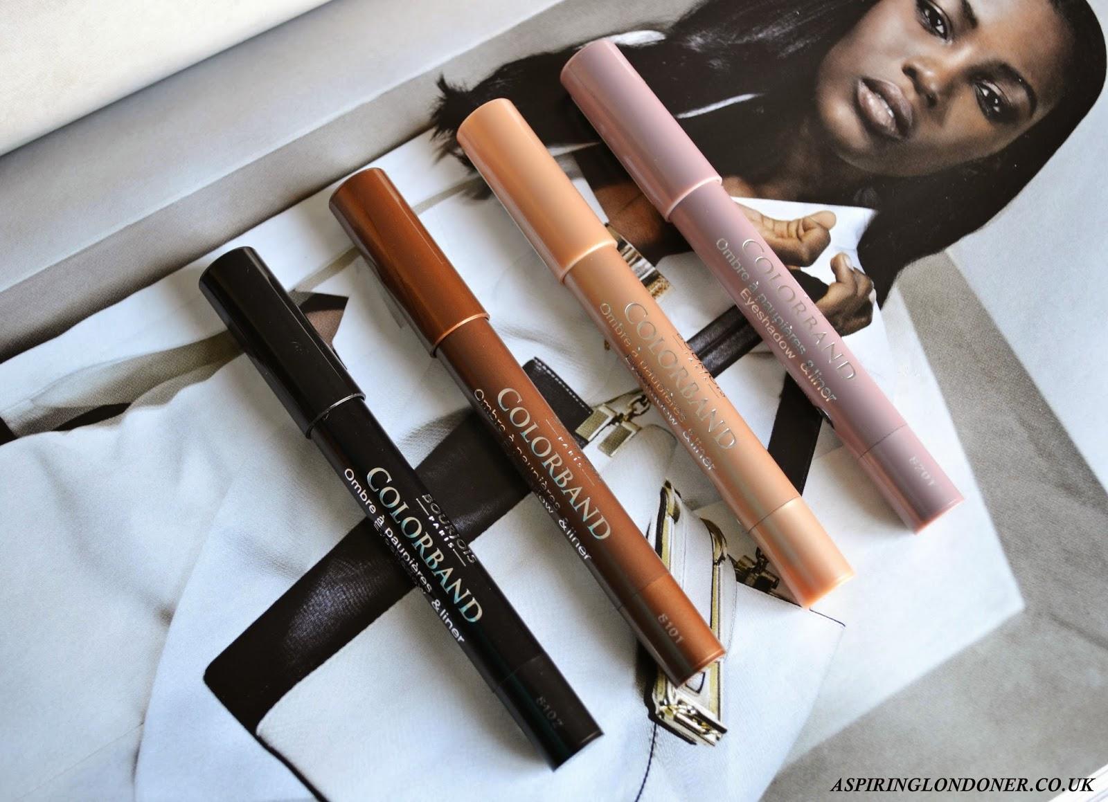 Bourjois Colorband 2-in-1 Eyeshadow & Liner Review - Aspiring Londoner