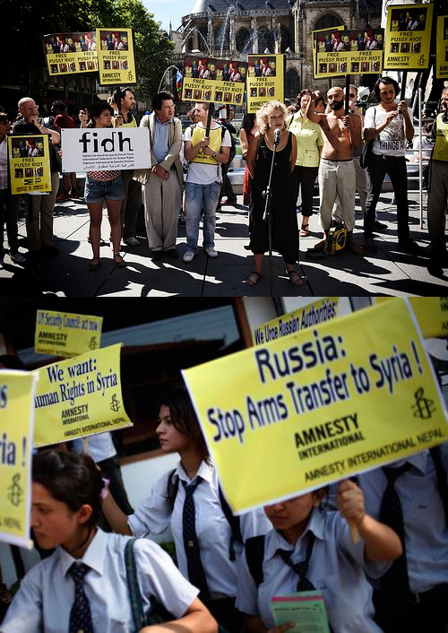 Amnesty International is US State Department Propaganda Amnesty Convenient Causes