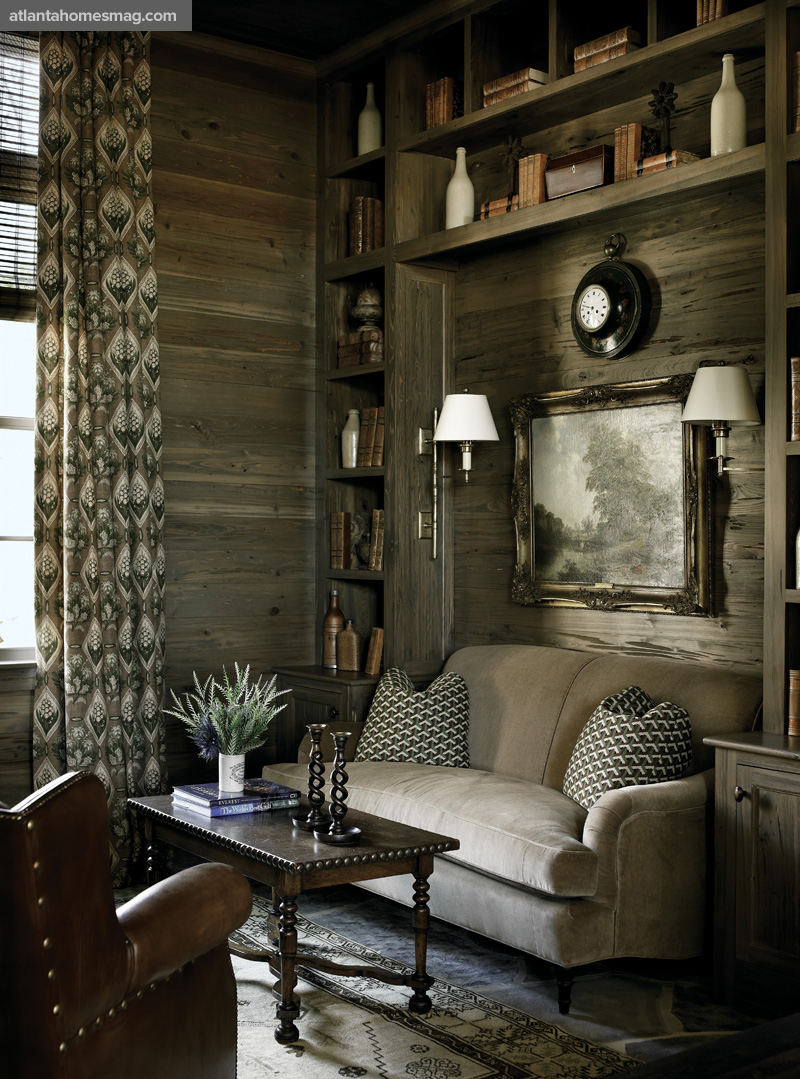 Home Tour A Refined Rustic Mountain Retreat Modern Diy Art Designs