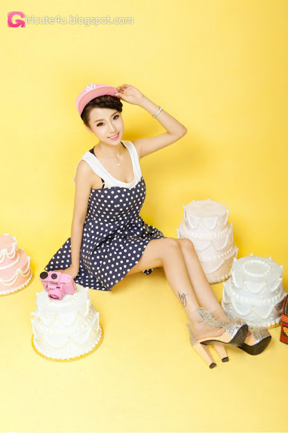 2 Lan Qi - pretty sweet fashion dress - very cute asian girl - girlcute4u.blogspot.com