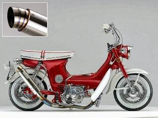 modifikasi motor antik