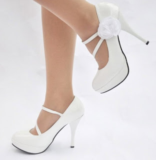 White Party Shoes For Women
