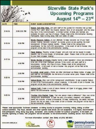 8-21-24 Sizerville State Park