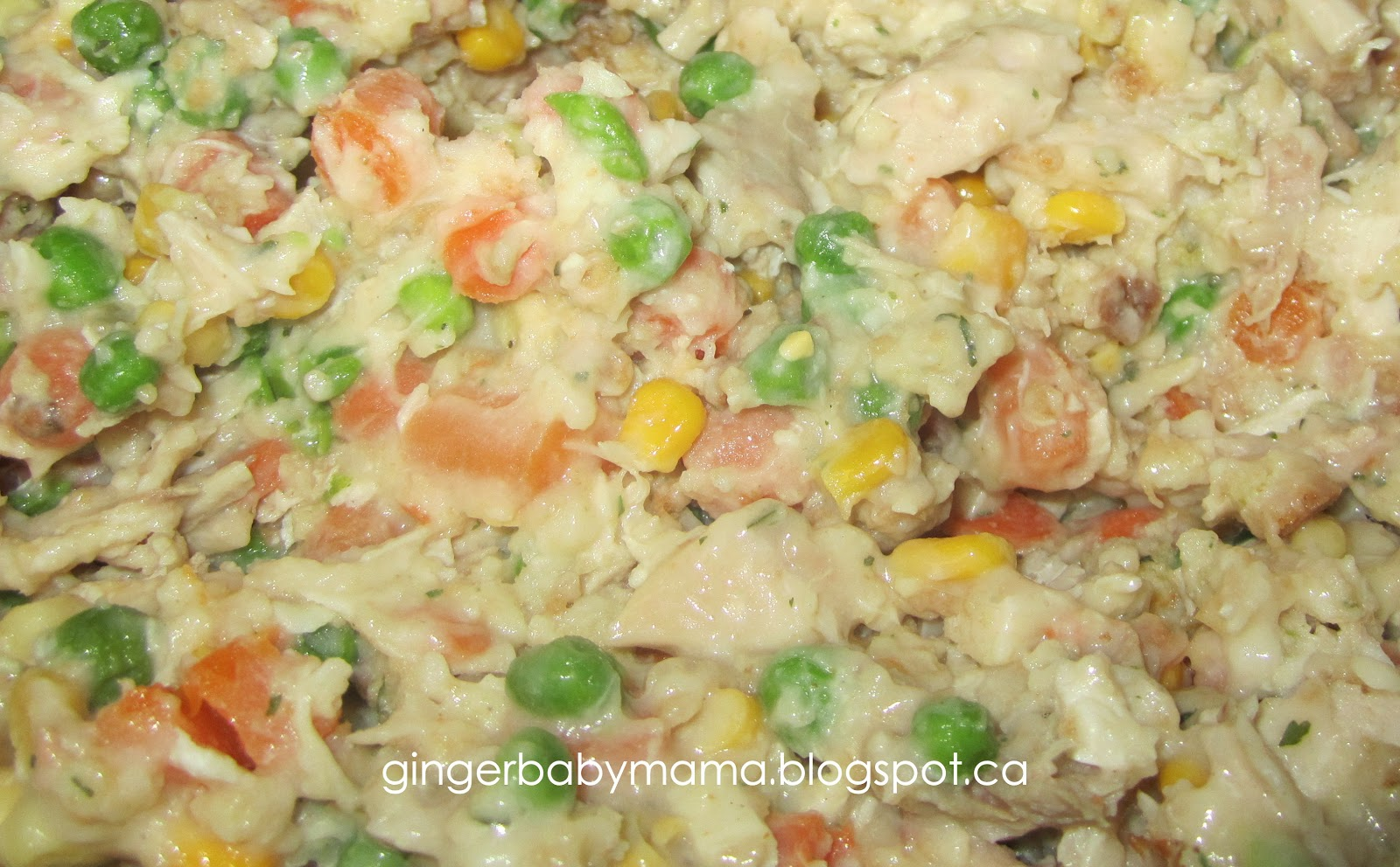 GingerBabyMama: Leftover Chicken Pot Pie Recipe (and Freezer Meal!)
